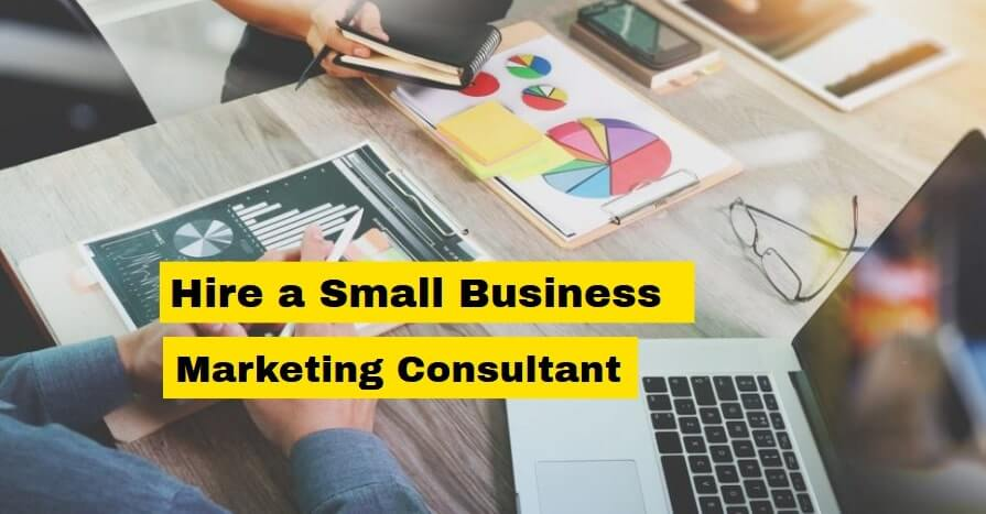 hire a small business marketing consultant