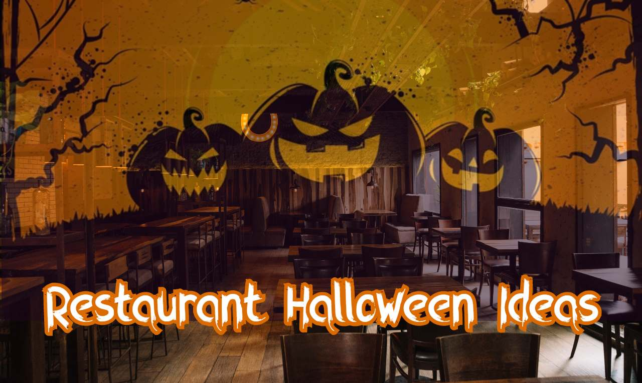 restaurant halloween ideas