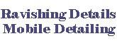 Ravishing Details Mobile Detailing, auto ceramic coating Coral Gables FL
