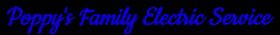 Poppy's Family Electric Service