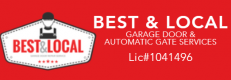 Best & Local Garage Door & Automatic Gate Services