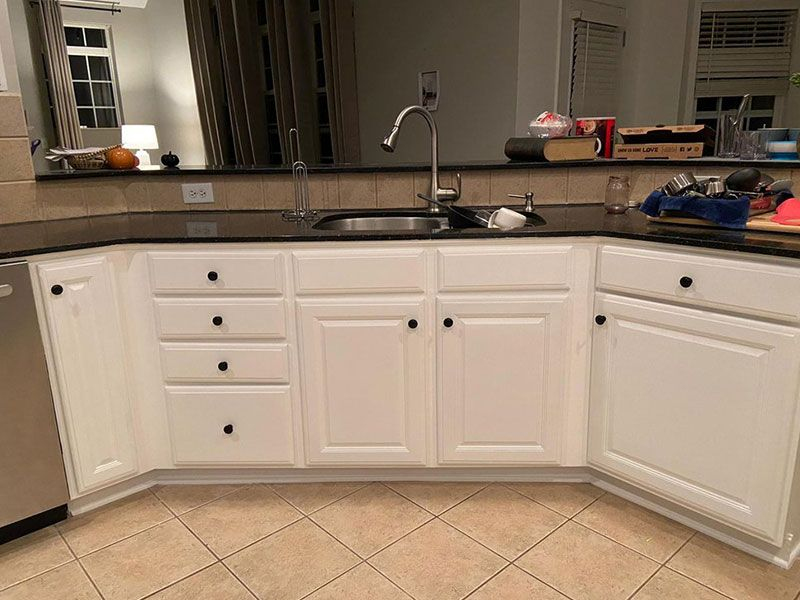 Kitchen Cabinet Painting Services Marvin NC